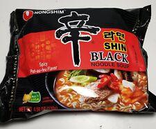 Korean Instant Noodle NongShim Shin Ramyun Black Premium Spicy Ramen K-Food