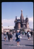 1969 kodachrome photo slide Red Square Moscow Russia USSR