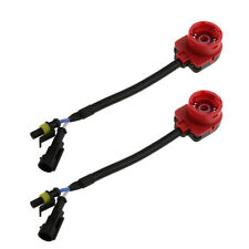 2pcs D2S D2R D2C HID Converter Connector Adapter Plug Cable Wiring