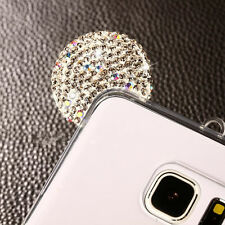 for Samsung Galaxy S8 - Silver Diamond Bling Minnie Mouse Ears TPU Rubber Case