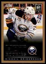 2013-14 Score Gold Hot Rookies Mikhail Grigorenko Rookie #643