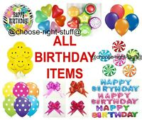 "12"" INCH 10-100 BALLON POLKA DOT Quality Birthday Wedding Balloons AL MEGA PACK"