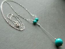 Turquoise Lariat Costume Necklaces & Pendants