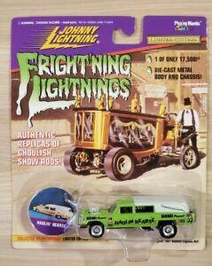 Johnny Lightning Fright'ning Lightnings Haulin' Hearse Green Series 2