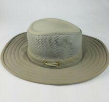 The Tilley Mesh Hat Tilleys Mens Size 7 Olive Lightweight EUC