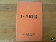 FORD TRAKTOR  FORDSON MAJOR 1949 MANUAL DUTCH A