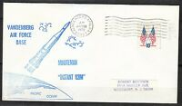 United States 1975 Jan 19 space cover Minuteman ICBM launch NASA history