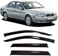 For Volvo S80 I Sd 1998-2005 Side Window Visors Sun Rain Guard Vent Deflectors
