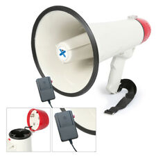 More details for megaphone siren & record playback function 1000m range 40w amp volume control
