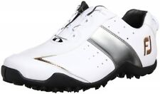 NEW FootJoy Golf Shoes Exl Spikeless Boa White x Silver x Gold from Japan F/S