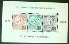 MONACO - MONAKO STAMPS MNH 2 block -Anniver. Prince Albert Stamps,1991,** SLANIA