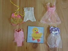 Barbie Doll Clothing Lot of 5 NIGHTIES NEGLIGEE Pink White Purple Lace
