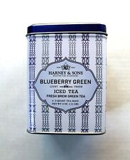 Harney & Sons Blueberry Green Iced Tea Fresh Brew Green Tea in Sealed Tin Kosher