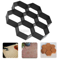 Driveway Paving Pavement Patio Mold Concrete Stone Step Walk Maker DIY Mould A