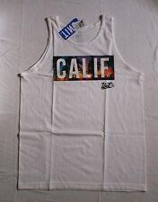 UNIT Riders Calif Tank Top Weiß White Muskel Shirt L Enduro NEU Sommer Urlaub