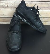Men's Nike Romaleos 3 Weightlifting Powerlifting Shoes Black Size 14  852933 004