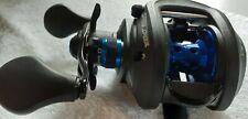 Lews MCS Carbon Blue CB1SHL Baitcaster, Baitcasting Fishing Reel No Reserve!