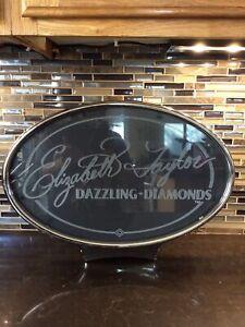 Las Vegas Elizabeth Taylor Dazzling Diamonds Slot Machine Light Up Topper Decor