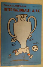 1972 EUROPEAN CUP FINAL: INTER MILAN v AJAX in Rotterdam (Org*, VG)