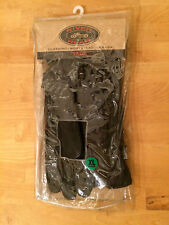 NEW Women's Sz XL RIVER ROAD Taos Cold Weather Black Leather Motorcycle Gloves