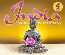 Vedische CD India Music For Meditation von Various Artists 4CDs