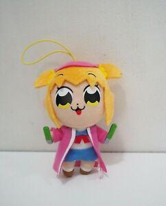"Pop Team Epic Takeshobo Popuko Strap Mascot 4"" Plush Toy Doll Japan"