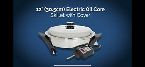 Saladmaster Electric Oil Core Skillet With Cover 12in. (30.5Cm)