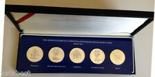 THE QUEEN ELIZABETH II THIRTIETH ANNIVERSARY  SILVER COIN PROOF SET RARE-2,944