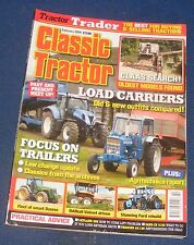 CLASSIC TRACTOR FEBRUARY 2014 - LOAD CARRIERS/FOCUS ON TRAILERS