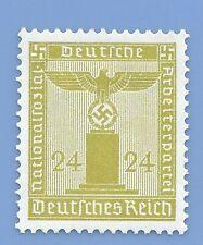 Germany Third Reich Nazi 1938 Nazi Swastika Eagle 24 Stamp  WW2 ERA