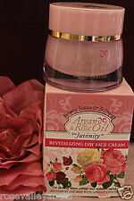 Revitalizing day face cream with Argan & Rose oil, anti aging anti wrinkle 50 ml