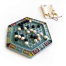Abalone Decorative Board Game - Handmade Ceramic Replica Set