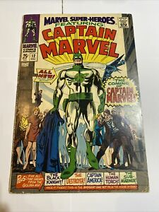 Marvel Super-Heroes 12 Origin & 1st Appearance of Captain Marvel Mar-Vell 1967