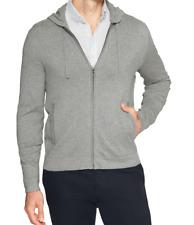 Banana Republic Premium Luxe Zip Hoodie Color Grey Size M