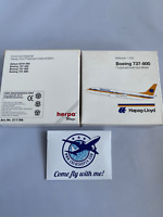 HERPA 511186 -1:500 - Hapag-Lloyd Boeing 737-800 -OVP NEU RETRO