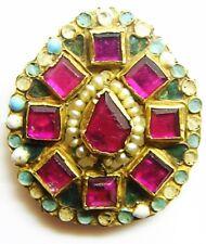 RARO periodo Rinascimentale Tudor oro smalto e perla gioiello C. 16th - 17th Secolo