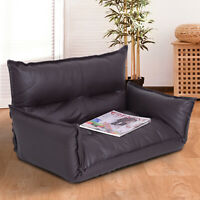 Floor Lazy Game Video Sofa Chair Foldable Adjustable Sleeper Bed Living Room
