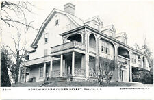 ROSLYN NY – William Cullen Bryant Home – Long Island – udb (pre 1908)