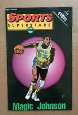 "Sports Superstar #3 ""Magic Johnson"" 1992 First Printing VG"