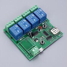 DC 5V 4 Channel Wifi Relay Module Phone APP Wireless Remote Control Switch Jog
