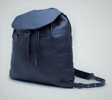 New AUTH Bottega Veneta Men's Women's Navy Grain Leather Backpack MSRP $3,500