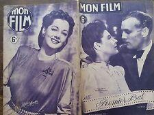 "MON FILM 1946 N 14 "" PREMIER BAL "" avec MARIE DEAA et RAYMOND ROULEAU"