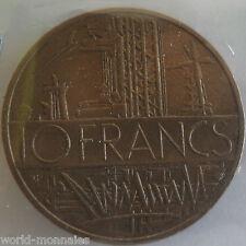 10 francs mathieu 1985  tranche A : TTB : pièce de monnaie française