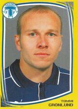 173 tommi Gronlund # sweden trelleborgs ff. sticker fotboll allsvenskan 2000