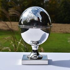 Vintage ST. JAMES Silverplate Hinged Ovoid Caviar Server - Made in Brazil