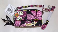 VERA BRADLEY ALL IN ONE CROSSBODY WRISTLET SHOULDER STRAP - PIROUETTE PINK  NEW