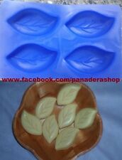Small Leaf Leaves Silicone Soap Chocolate Fondant Clay Jelly Mold Molder