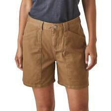 NWT Patagonia Clean Color Shorts in Clean Citrus Brown 14 organic cotton twill