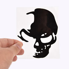Cool Skull Car Reflective Stickers Car Styling Car Decoration Decal Black MO