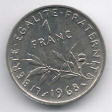 France :  1 Franc 1968